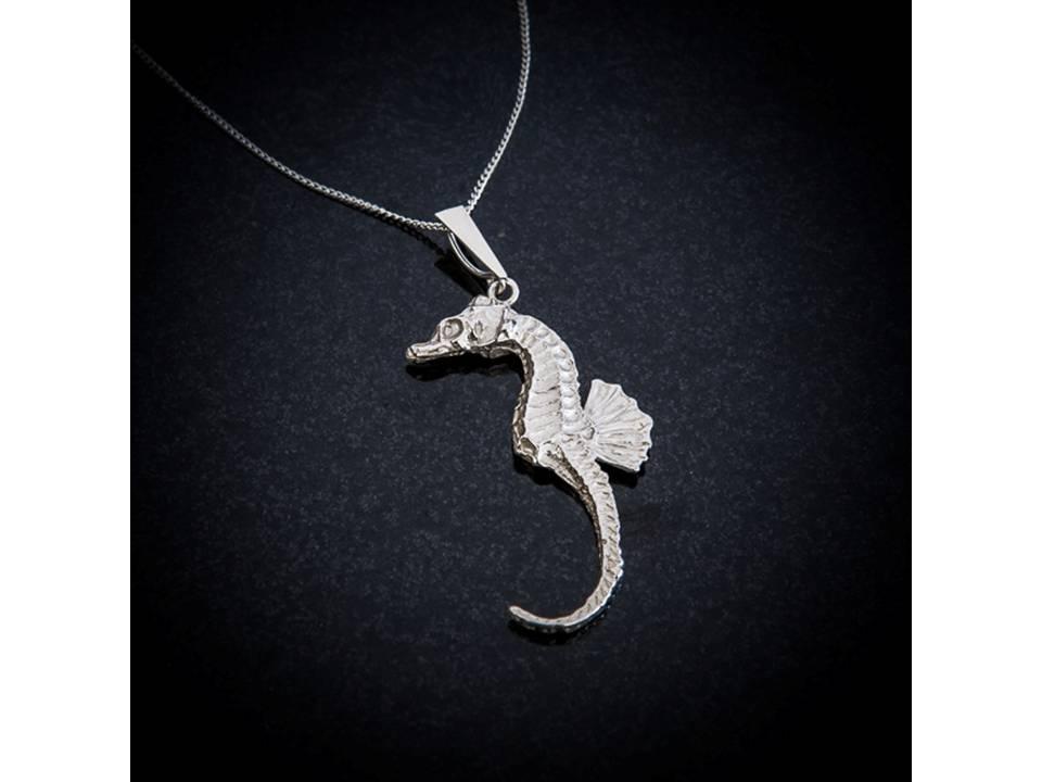 Silver Seahorse pendant by Patricia Dudgeon Designs