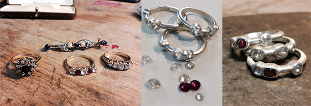 Bespoke Jewellery from something old to something new