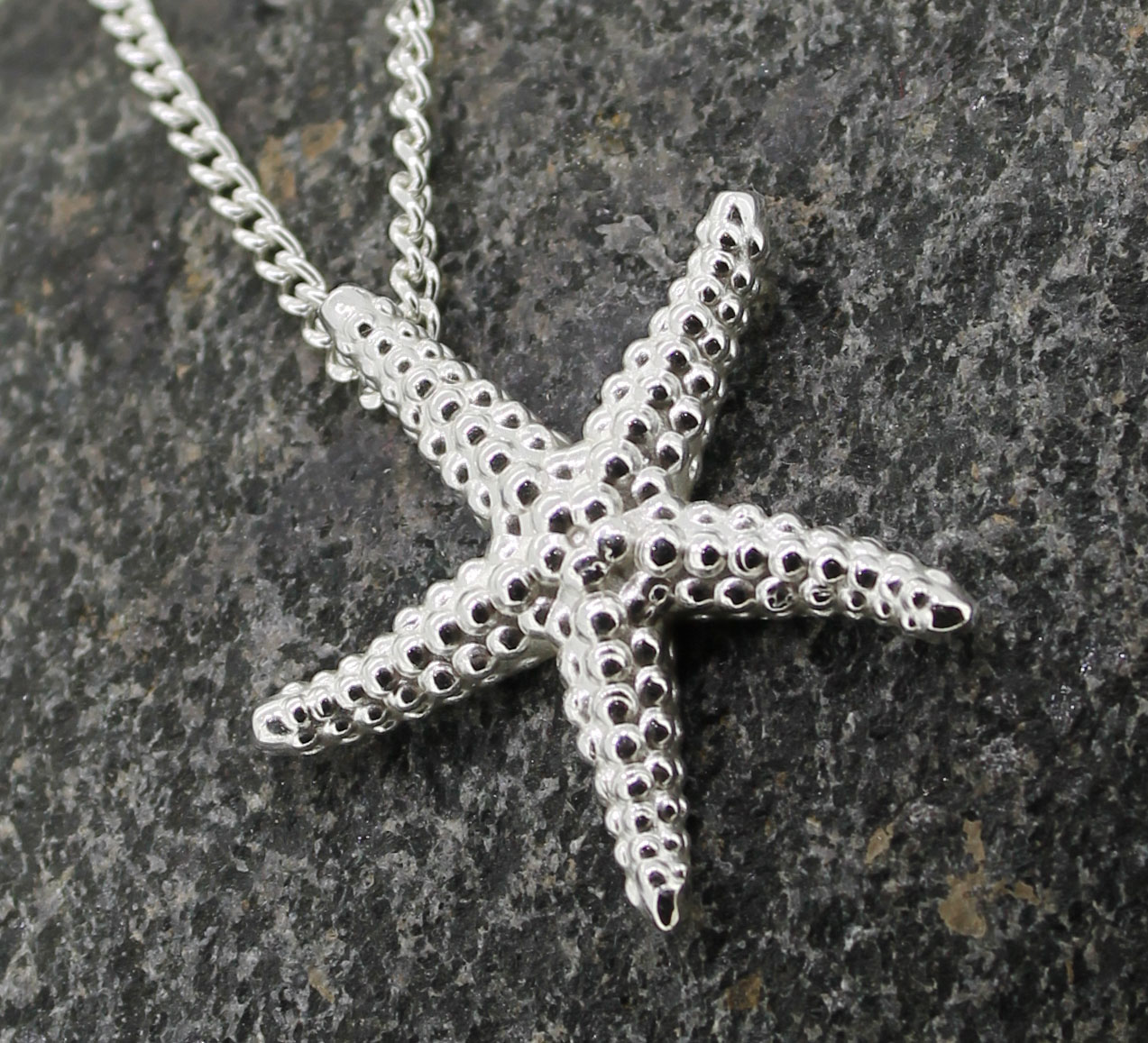 Large Starfish pendant,a Patricia Dudgeon Design