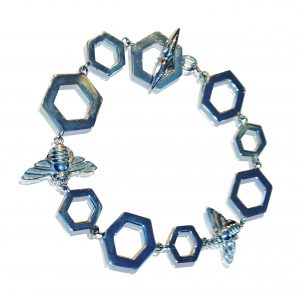 Honey bee bracelet from Patricia Dudgeon Designs