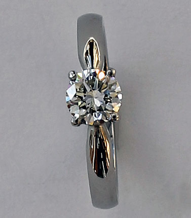Diamond solitaire by Patricia Dudgeon Designs